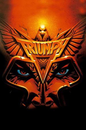 Camiseta Triumph - Never Surrender