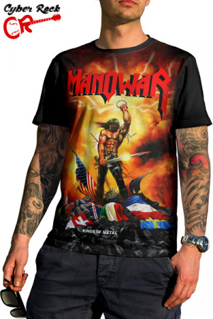 Camiseta Manowar Kings of Metal
