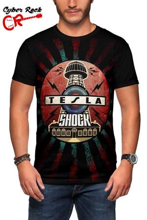 Camiseta Tesla-Shock