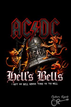 Almofada AC DC Hells Bells