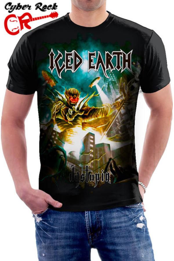 Camiseta Iced Earth Dystopia