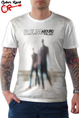 Camiseta REM Around the Sun