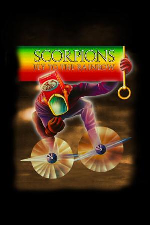 Blusinha Scorpions Rainbow