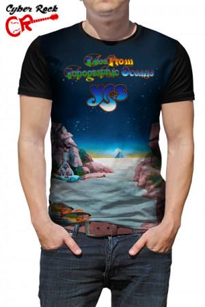 Camiseta Yes Topographic Oceans