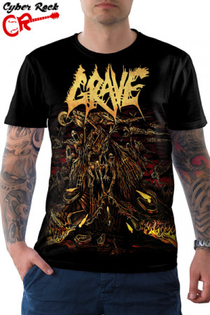 Camiseta Grave Endless Procession of Souls