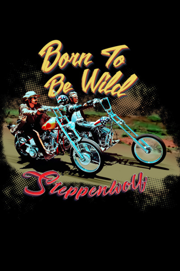 Blusinha Steppewolf Born to Be Wild
