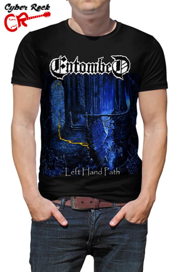 Camiseta Entombed - Left Hand Path