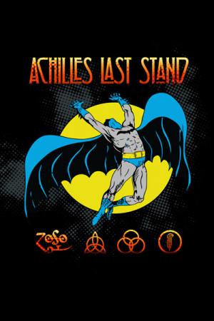 Camiseta Achilles Last Stand