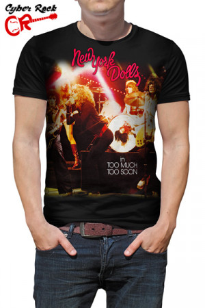 Camiseta New York Dolls in Too Much Too Soon
