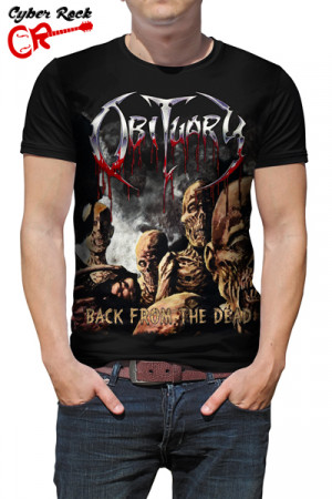 Camiseta Obituary - Back from the dead