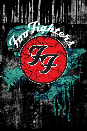 Camiseta Foo Fighters Logo