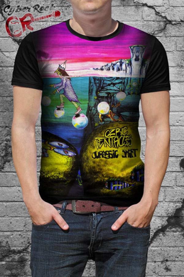 Camiseta Ozric Tentacles Jurassic