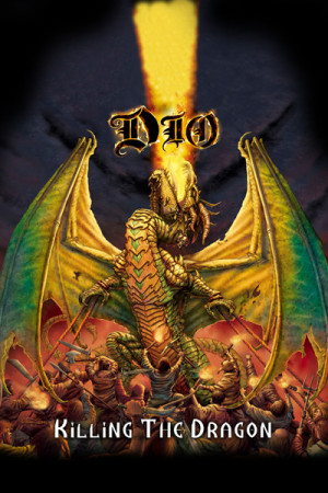 Camiseta Dio Killing the Dragon