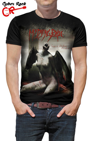 camiseta My Dying Bride Songs Of Darkness Words Of Light