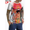 Camiseta Jimi Hendrix Bold As Love Branco