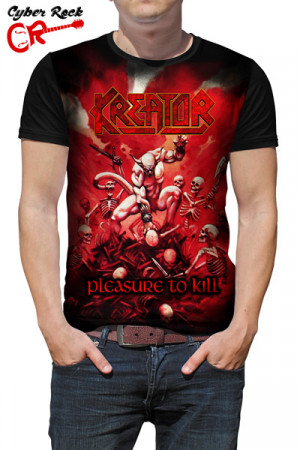 Camiseta Kreator Pleasure to kill
