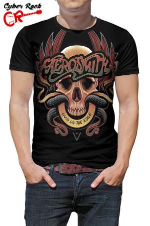 camiseta Aerosmith Livin on the Edge