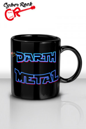 Caneca Darth Metal