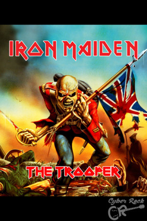 Almofada Iron Maiden The Tropper