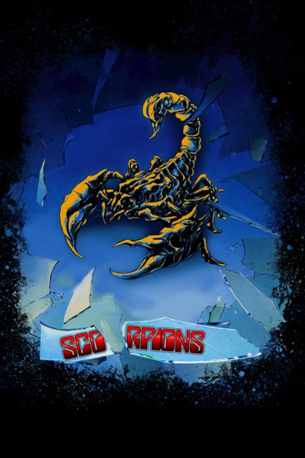 Blusa Moletom Scorpions Blackout