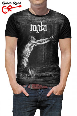 Camiseta Mgla Exercises in Futility