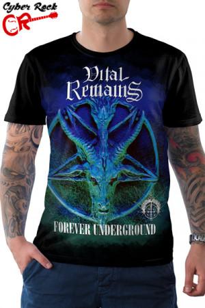 Camiseta Vital Remains Forever Underground