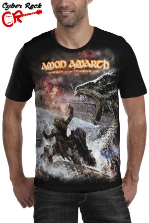 Camiseta  Amon Amarth Twilight of the Thunder Gods