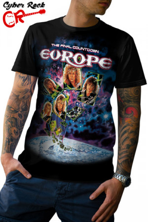 Camiseta Europe the Final Countdown