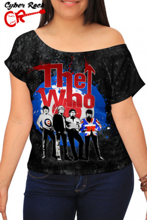Blusinha The Who logo