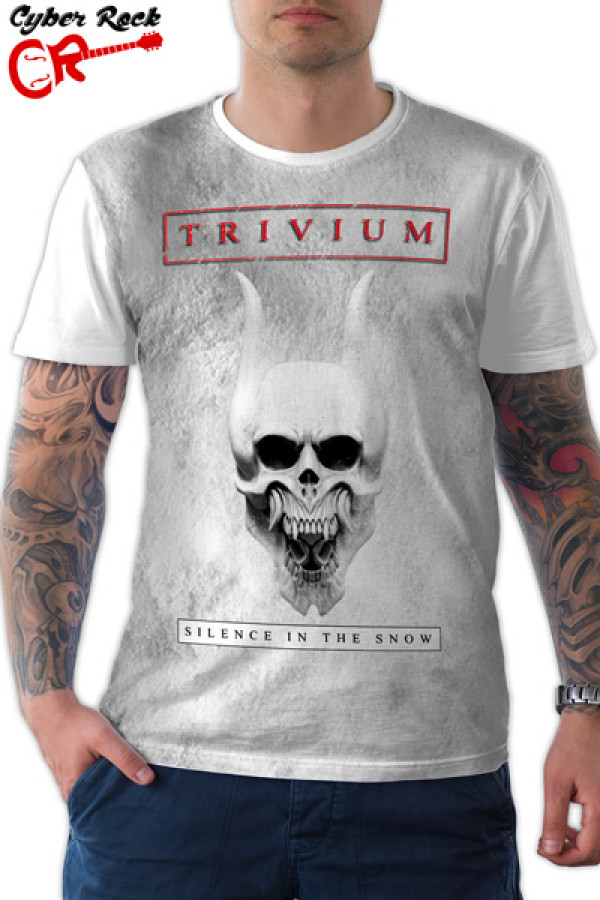 Camiseta Trivium Silence In The Snow