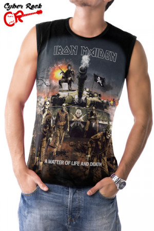 Regata Iron Maiden A Matter Of Life And Death
