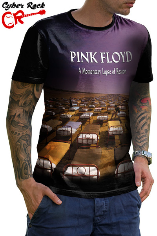 7680dce607 Camisetas de Rock e Heavy Metal. Camiseta Pink Floyd A Momentary ...