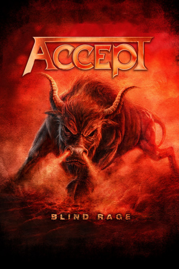 Camiseta Accept Blind Rage