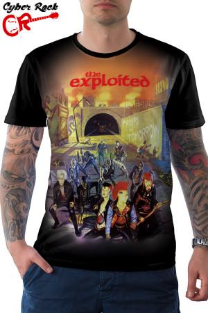 Camiseta The Exploited Fuck Troops of Tomorrow