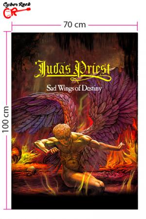 Bandeira Judas Priest Sad Wings of Destiny