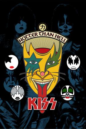 Blusinha Kiss Hotter Than Hell