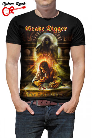 Camiseta Grave Digger Last Supper