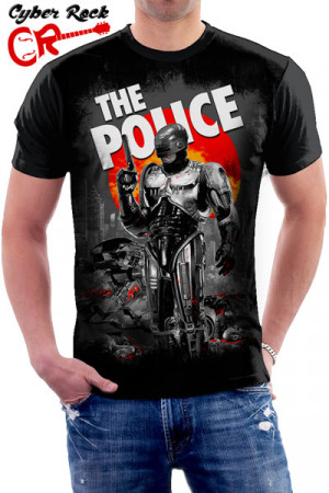 Camiseta The Police Robocop