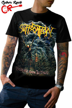 Camiseta Suffocation Pierced From Within