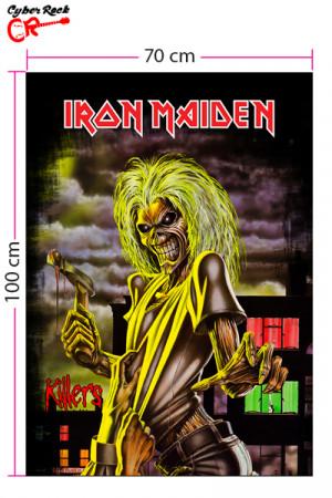 Bandeira Iron Maiden - Killers