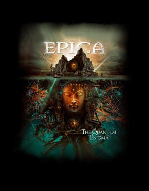 Camiseta Epica The Quantum Enigma Album