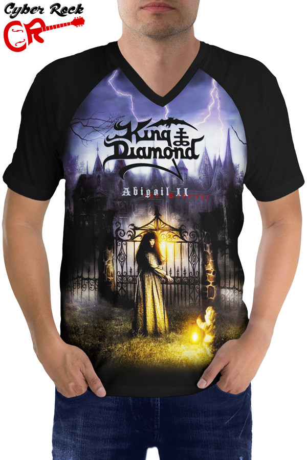 Raglan manga curta King Diamond Abigail II