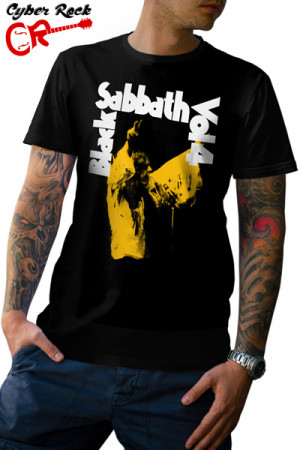 Camiseta Black Sabbath Vol. 4