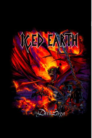 Camiseta Iced Earth Dark Saga