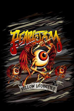 Blusinha Pearl Jam -  Yellow Ledbetter