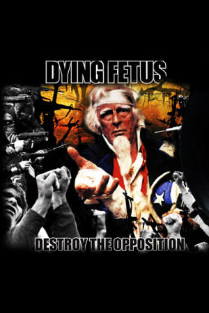 Camiseta Dying Fetus Destroy the Opposition