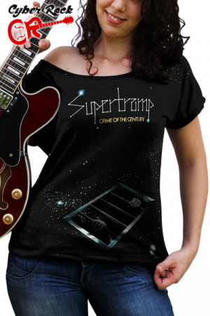 Blusinha Supertramp Crime of The Century