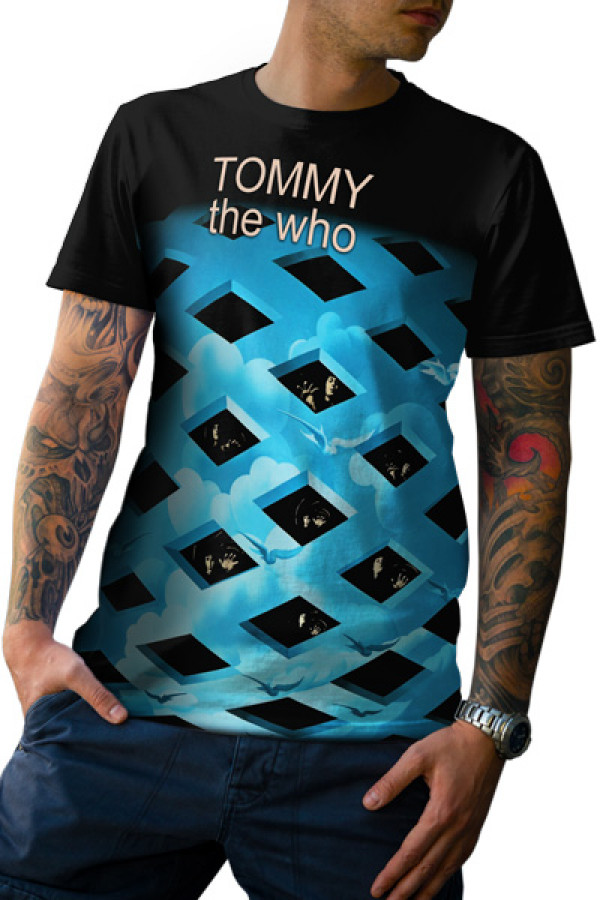 Camiseta The Who Tommy