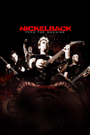 Camiseta Nickelback Feed the Machine Tour