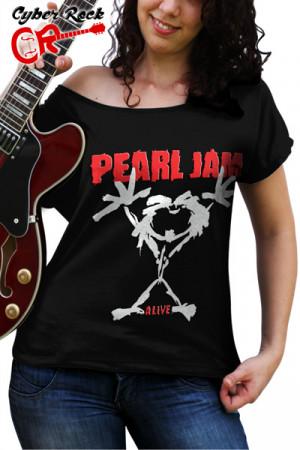 Blusinha Pearl Jam - Alive